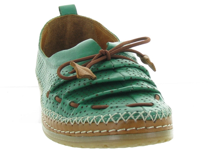 Baboos chaussures a lacets 155704 vert4596703_3