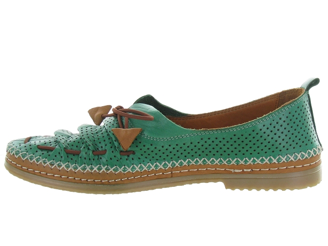 Baboos chaussures a lacets 155704 vert4596703_4