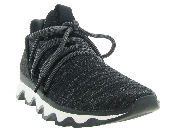 Sorel baskets et sneakers kinetic lace noir4597802_3