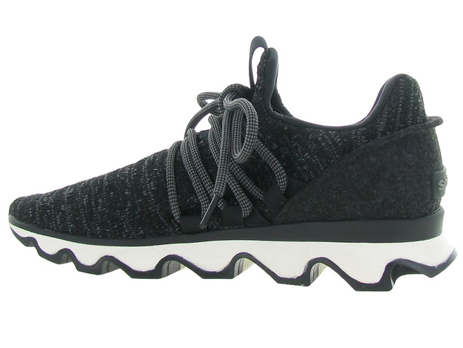 Sorel baskets et sneakers kinetic lace noir4597802_4
