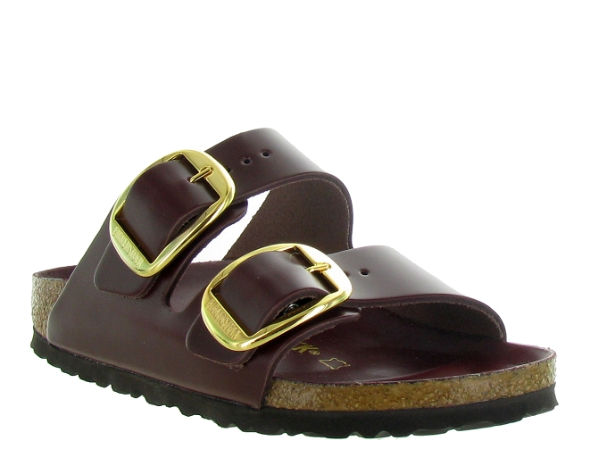 Birkenstock nu pieds arizona big buckle bordeaux