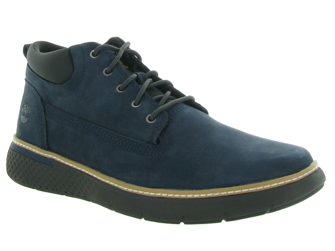Timberland chaussures a lacets a222f cross mark marine