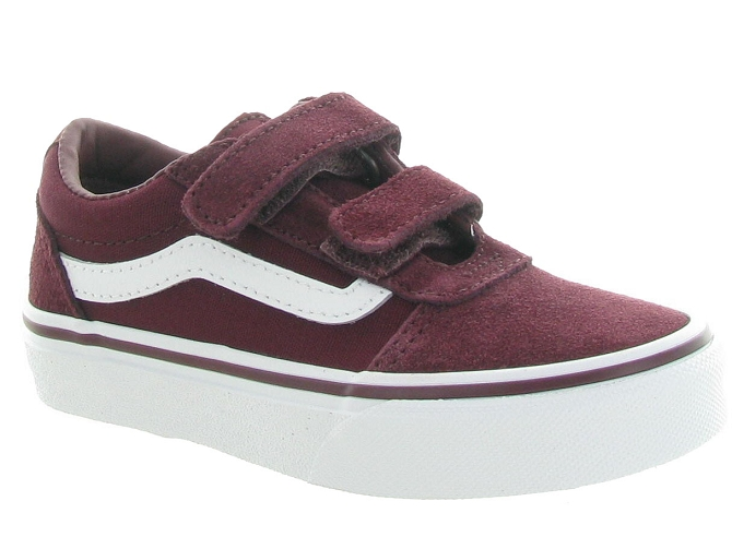 Vans baskets et sneakers ward v boy bordeaux