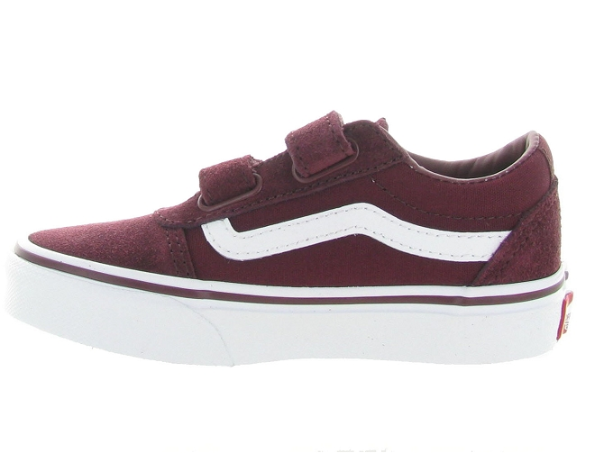 Vans baskets et sneakers ward v boy bordeaux4636901_3