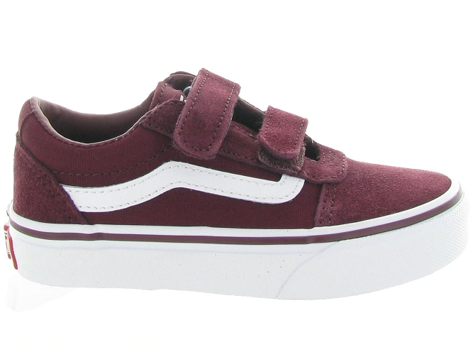 Vans baskets et sneakers ward v boy bordeaux4636901_5