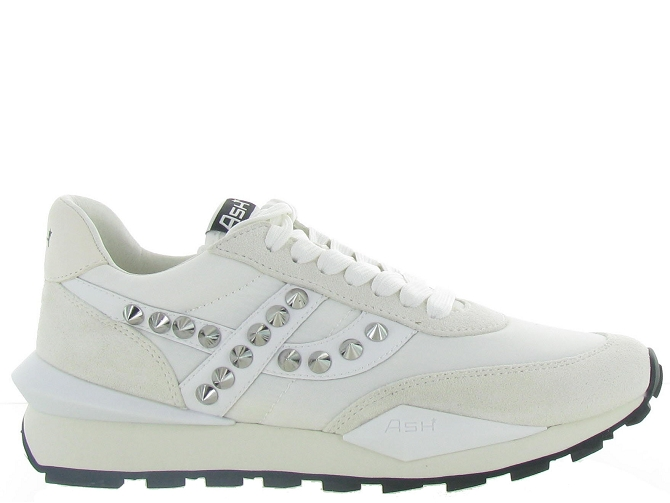 Ash italia baskets et sneakers spider studs blanc4638904_2