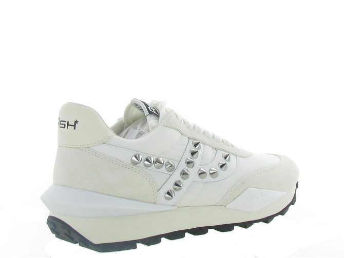 Ash italia baskets et sneakers spider studs blanc4638904_5
