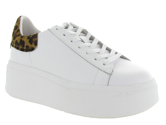 Ash italia baskets et sneakers moby blanc