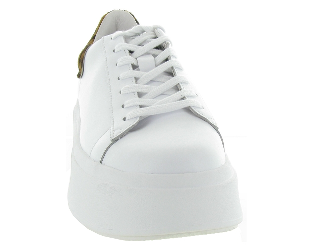 Ash italia baskets et sneakers moby blanc4639201_3