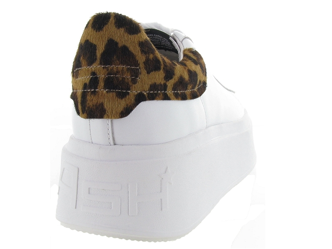 Ash italia baskets et sneakers moby blanc4639201_5