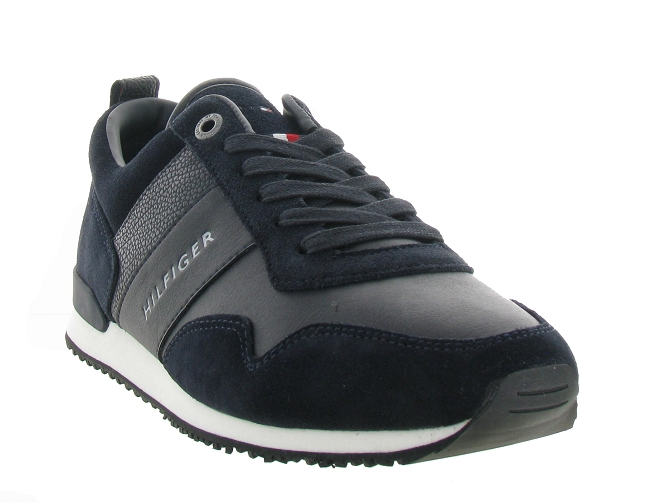 Tommy hilfiger baskets et sneakers mix runner marine4641602_3