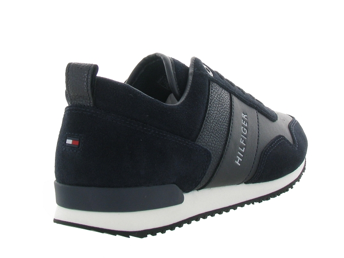 Tommy hilfiger baskets et sneakers mix runner marine4641602_5