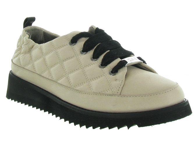 Xsa chaussures a lacets 8010 beige