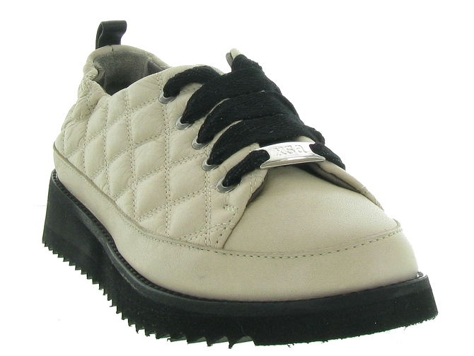 Xsa chaussures a lacets 8010 beige4661901_3