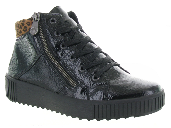 Rieker baskets et sneakers m6434 pack noir