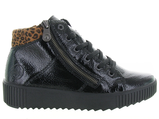 Rieker baskets et sneakers m6434 pack noir4682101_2
