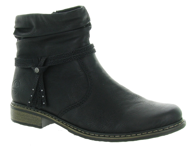 Rieker bottines et boots z4953 pack noir