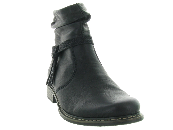 Rieker bottines et boots z4953 pack noir4683701_3