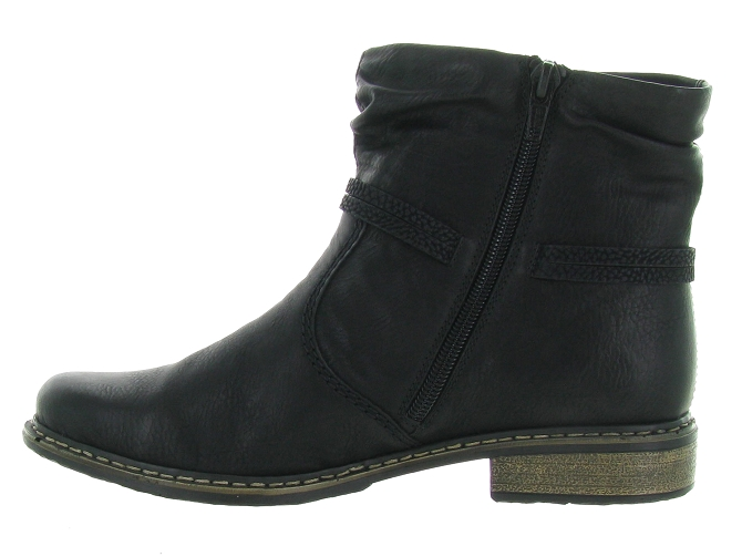 Rieker bottines et boots z4953 pack noir4683701_4