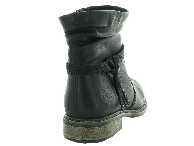 Rieker bottines et boots z4953 pack noir4683701_5
