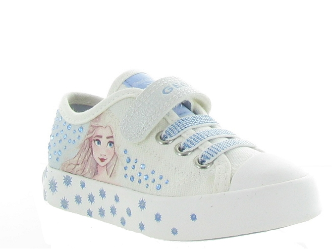 Geox baskets et sneakers j1504a ciak girl blanc