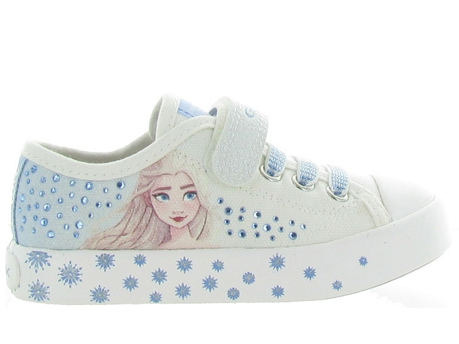 Geox baskets et sneakers j1504a ciak girl blanc4707501_2