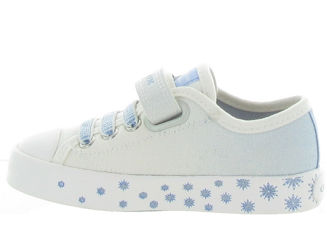 Geox baskets et sneakers j1504a ciak girl blanc4707501_4