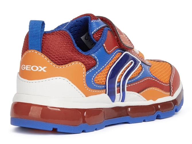 Geox baskets et sneakers j1544b android boy rouge4707702_5