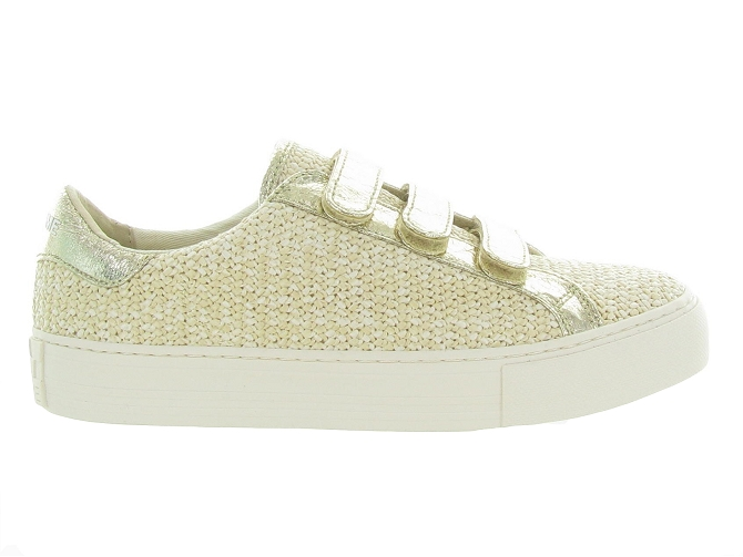 No name baskets et sneakers arcade strap rattan beige4731801_2