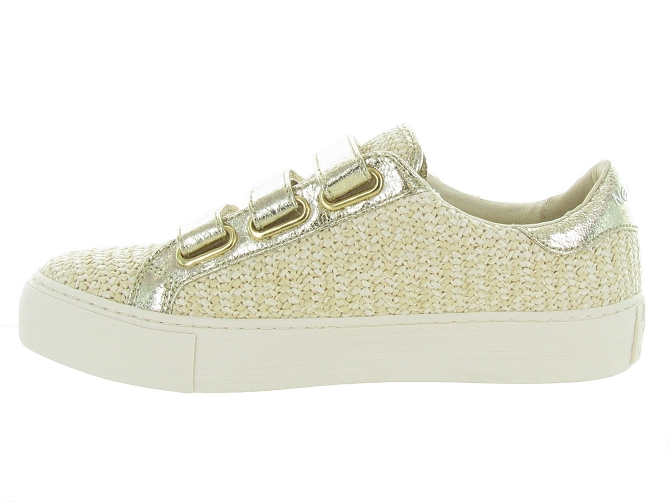 No name baskets et sneakers arcade strap rattan beige4731801_4