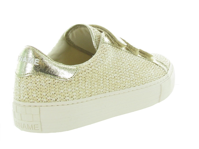 No name baskets et sneakers arcade strap rattan beige4731801_5