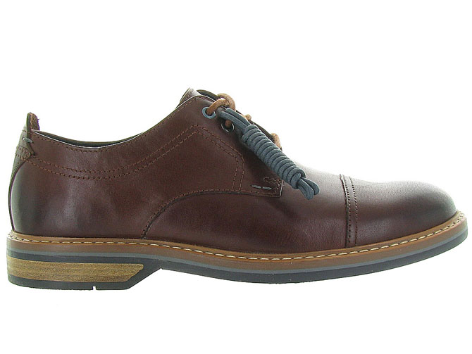 Clarks chaussures a lacets pitney cap marron5023802_2