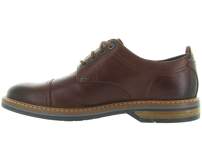 Clarks chaussures a lacets pitney cap marron5023802_4