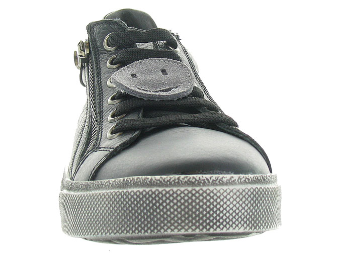 Reqins chaussures a lacets domino smiley gris5039001_4