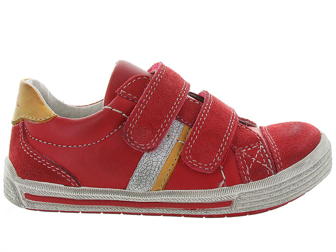 Noel kids chaussures a scratch ringo rouge5047901_2