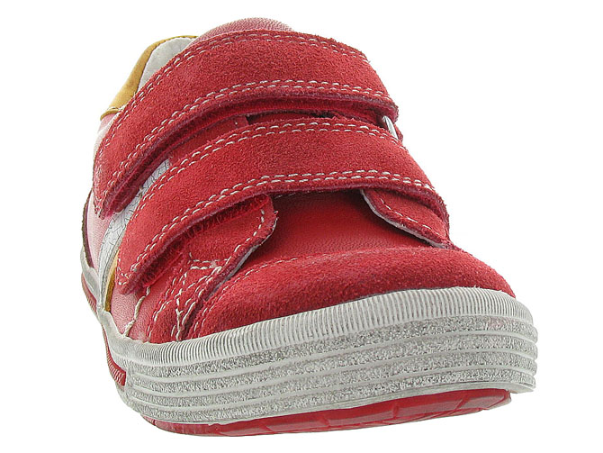 Noel kids chaussures a scratch ringo rouge5047901_3