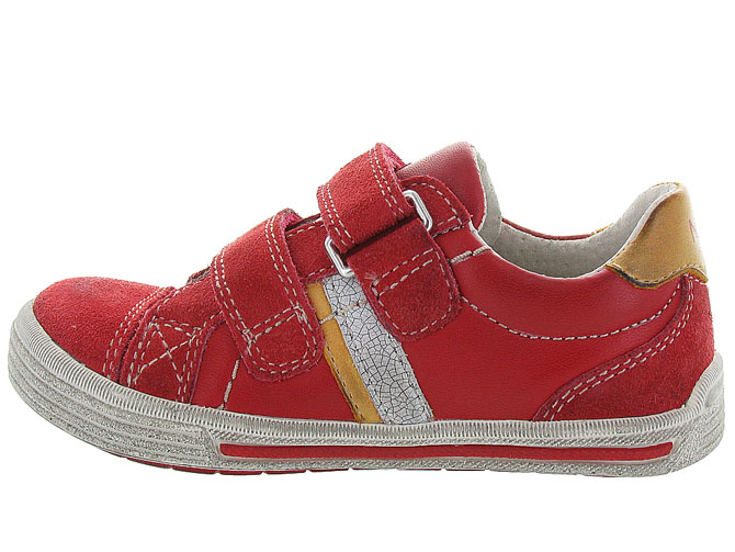 Noel kids chaussures a scratch ringo rouge5047901_4