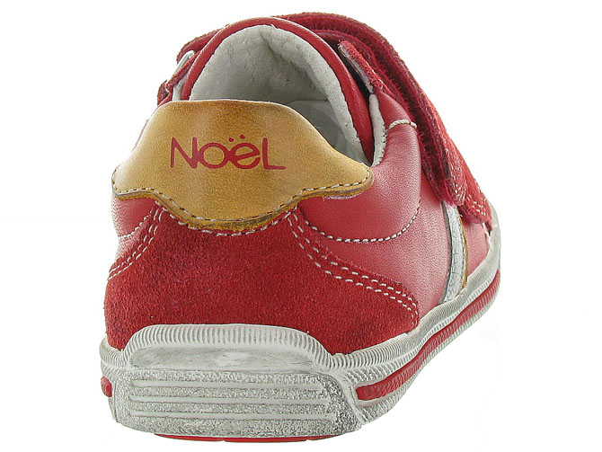 Noel kids chaussures a scratch ringo rouge5047901_5