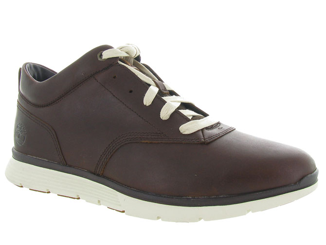 Timberland baskets et sneakers ca185e killington marron fonce