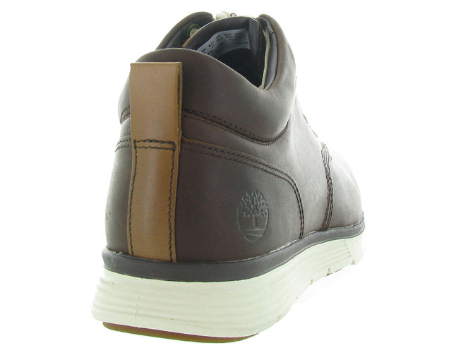 Timberland baskets et sneakers ca185e killington marron fonce5110101_5