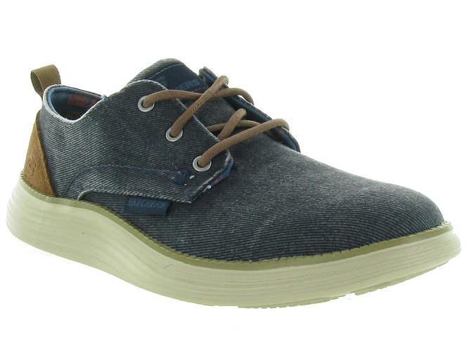 Skechers footwear chaussures a lacets 65910 jeans5161102_2