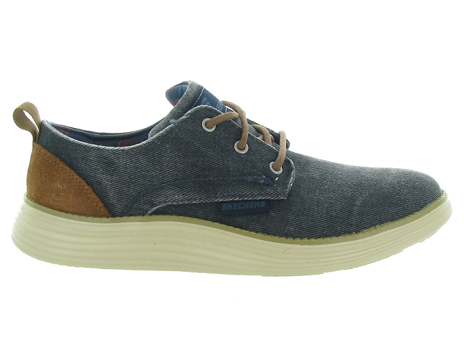 Skechers footwear chaussures a lacets 65910 jeans5161102_3