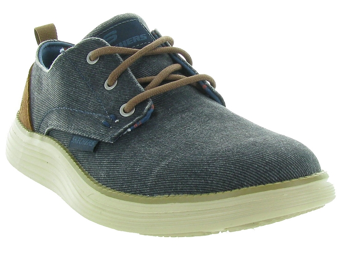 Skechers footwear chaussures a lacets 65910 jeans5161102_4