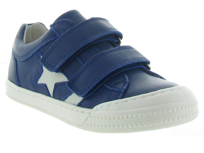 Bellamy chaussures a scratch upie bleu royal