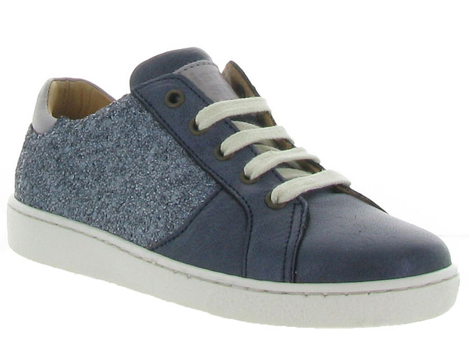 Bisgaard chaussures a lacets 31837 jeans