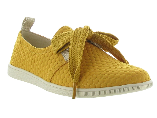 Armistice chaussures a lacets stone one sweet jaune5188701_3
