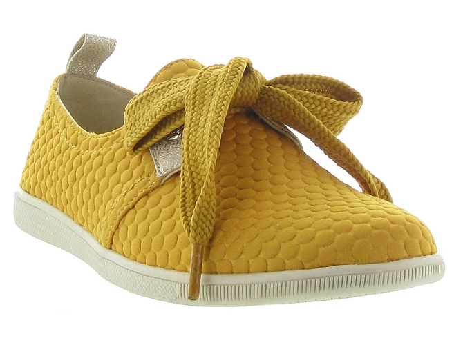 Armistice chaussures a lacets stone one sweet jaune5188701_4