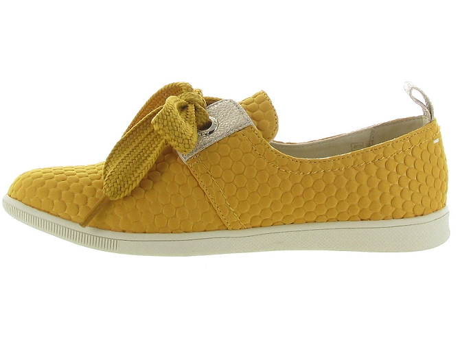 Armistice chaussures a lacets stone one sweet jaune5188701_5
