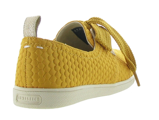 Armistice chaussures a lacets stone one sweet jaune5188701_6