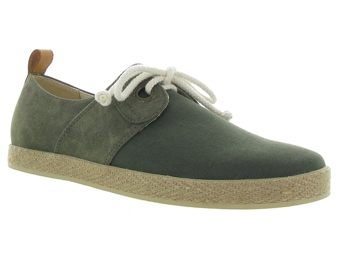 Armistice chaussures a lacets cargo one snoop kaki5189001_2
